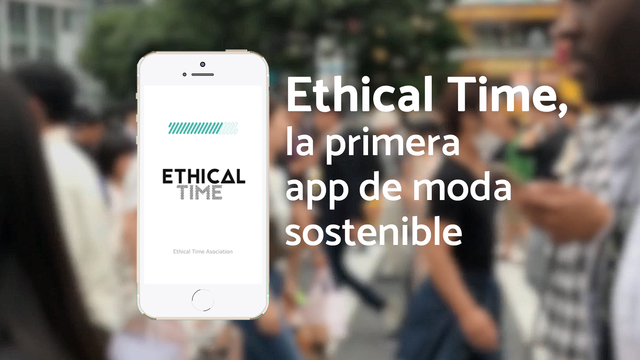 Moda sostenible app ethical time