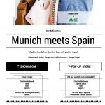 AMSE moda sostenible flyer Munich meets Spain