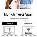 AMSE moda sostenible flyer Munich meets Spain