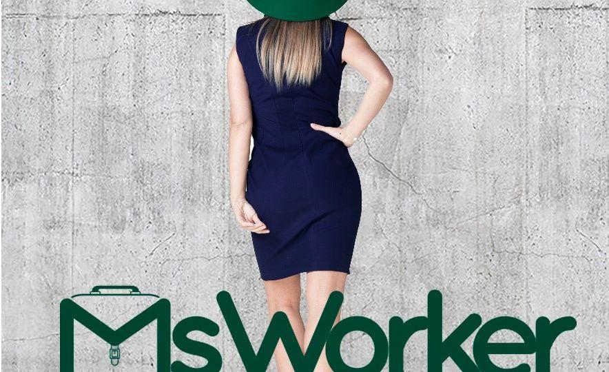 ms worker vestido para el trabajo sostenible